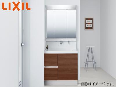 【秋のリフォームフェア 対象商品】 <75cm幅>LIXIL 洗面化粧台「T1」シリーズ ※交換工事費込み価格の商品画像