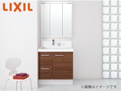 【秋のリフォームフェア 対象商品】 <75cm幅>LIXIL 洗面化粧台「K1」シリーズ ※交換工事費込み価格の商品画像