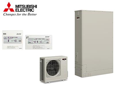 【グリーン住宅ポイント対象】MITSUBISHI 370L薄型エコキュート フルオート(Aシリーズ・リモコンセット)の商品画像