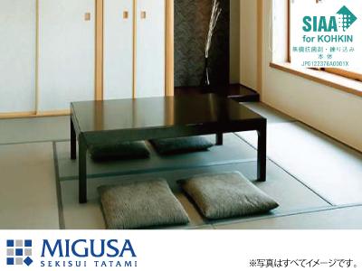 【秋のリフォームフェア 対象商品】【MIGUSA抗菌畳(樹脂)】畳表替え江戸間サイズ1畳の商品画像