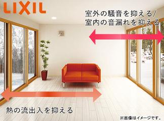 【グリーン住宅ポイント対象】LIXIL 窓の断熱リフォーム「インプラス」※ダストバリア・Low-E複層ガラス※標準設置工事費込み価格の商品画像